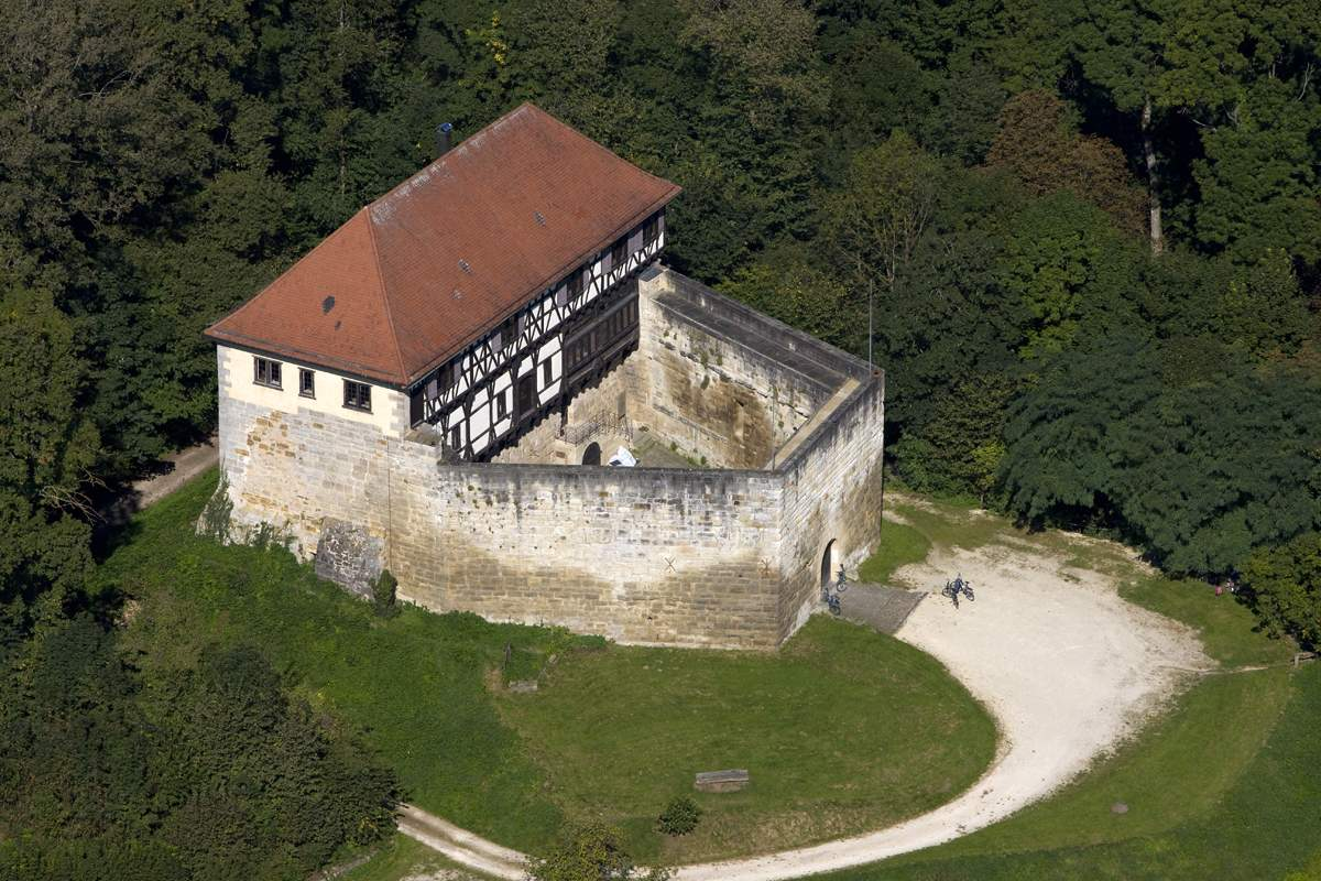 Wäscherschloss Castle; photo: Staatliche Schlösser und Gärten Baden-Württemberg, Achim Mende